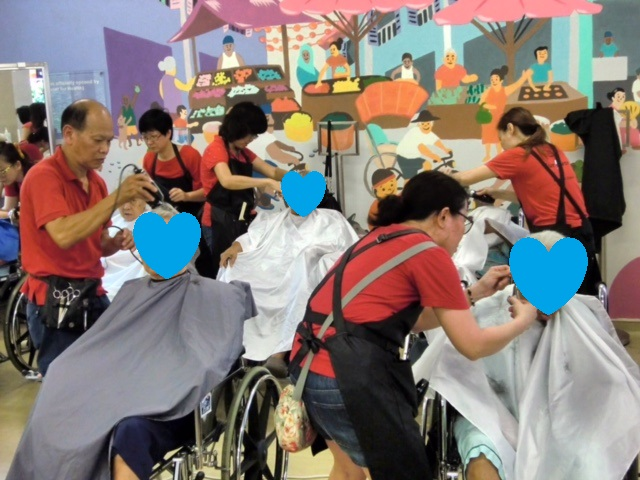 Pearls Hill Haircutting Session 27May20170