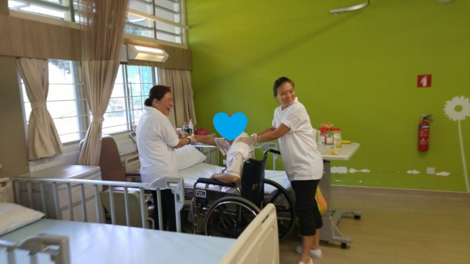 Pearls Hill Reflexology Inside Wards 27May20170