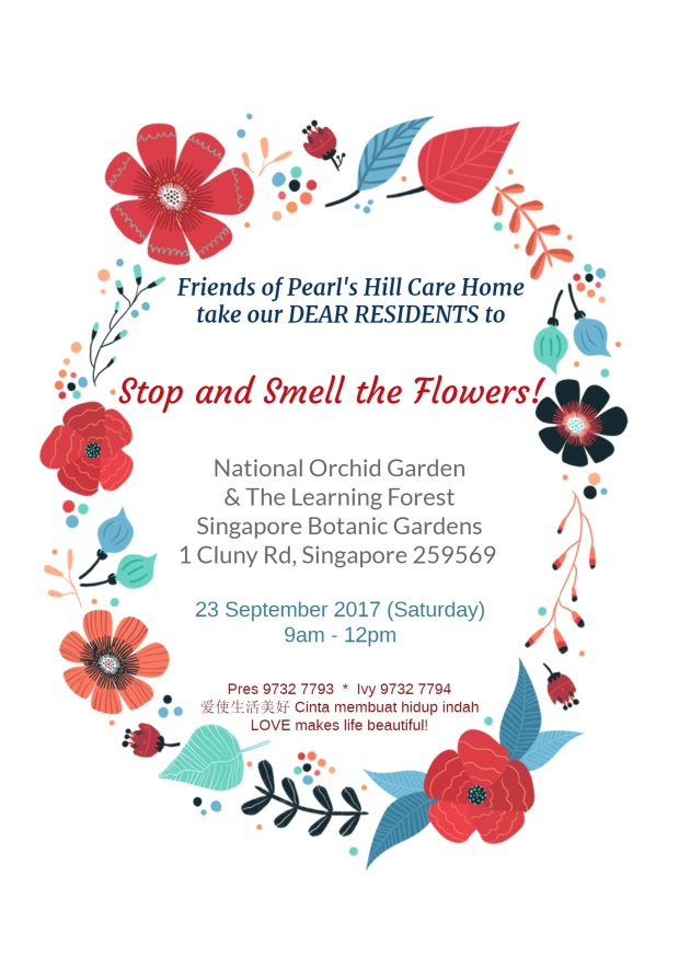 Stop and Smell the Flowers Invite 8Sept2017